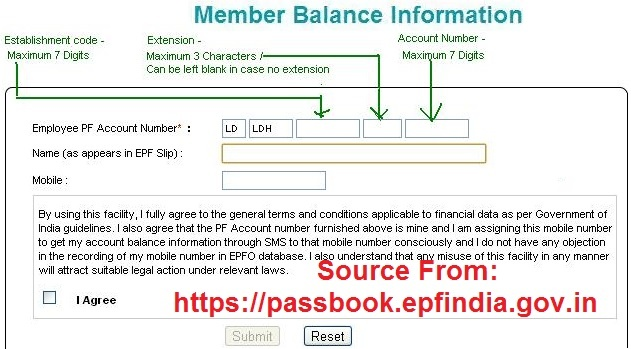 Epfindia gov in EPF India PF Balance check without UAN